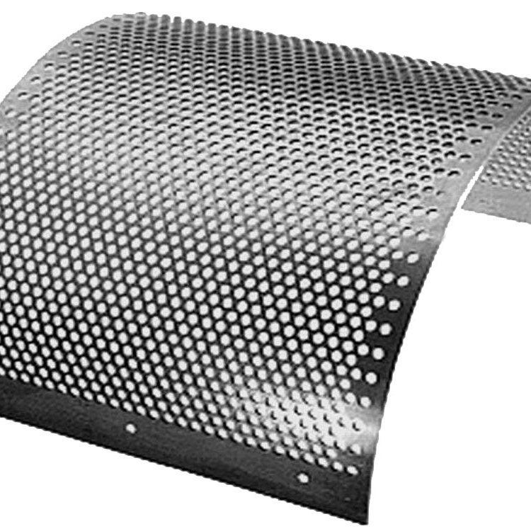 staggered hole patterns aluminum perforated sheet