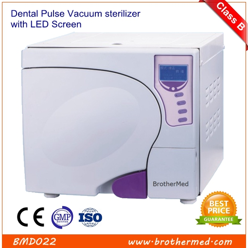Pulsating Vacuum sterilizer with LED Screen