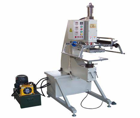 TJ-69 C hot foil stamping heat press machine for outdoor dustbin