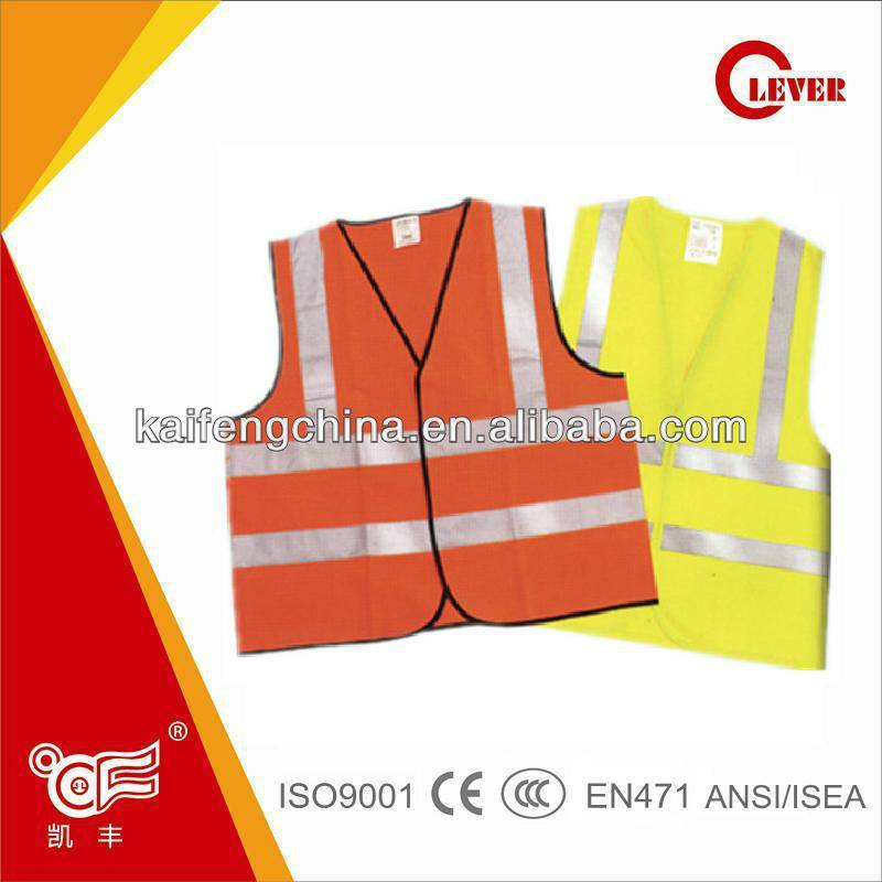 HOT Selling EN471 Class 2 High Reflective Safety Vests for Women and Man and Reflective Motorcycle V