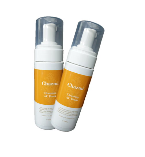 Korean cosmetics brand 'Chazmi' Cleaning AC Foam