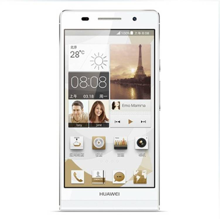 """Wholesale - Huawei P6 - 4.7"""" Inch Android 4.2 Quad Core Mobile Smart Phone(1.5GHz,2GB/8GB,Wifi)-Whit"""