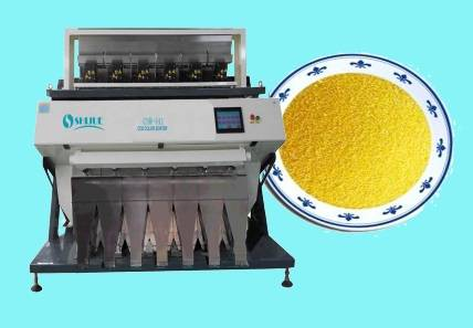 good quality hot sell Yellow Rice Color Sorter Machine