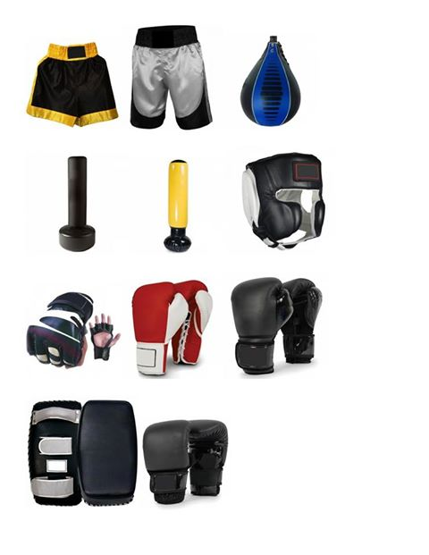 Boxing Equipments Martial Arts MMA Equipments Sportswear's Products.