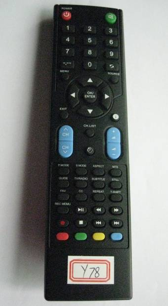 Remote Control for Video & Audio, Universal, Y78