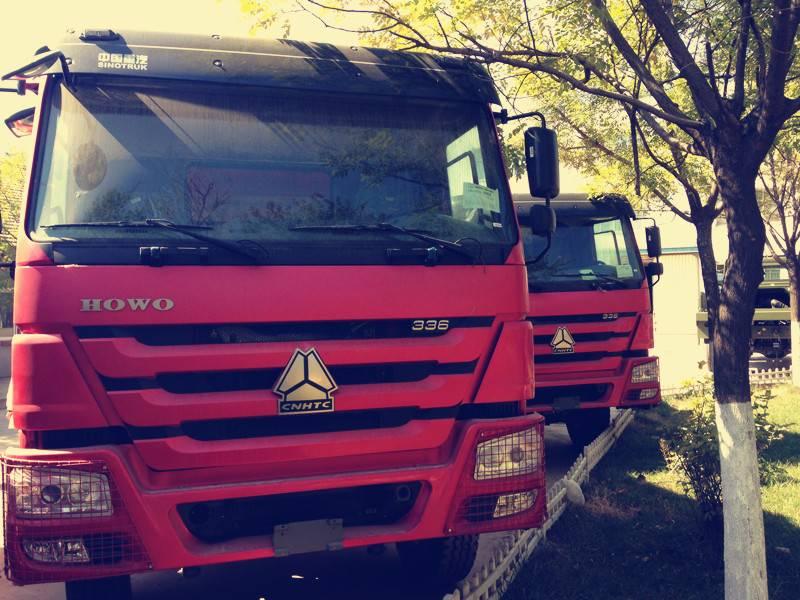howo dump trucks ZZ3257N3447A1