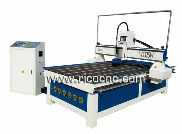 Slatwall Cutting CNC Router MDF Panels Carving Machine W1325VC