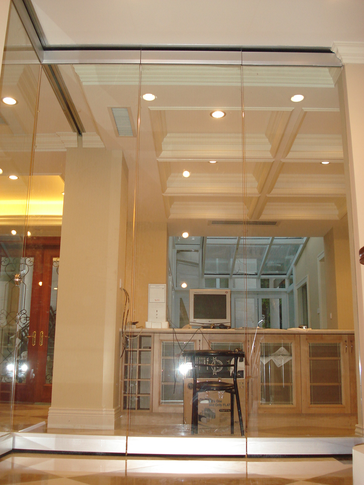 Decorative soundproof movable partition walls sliding partition for hotel banquet hall