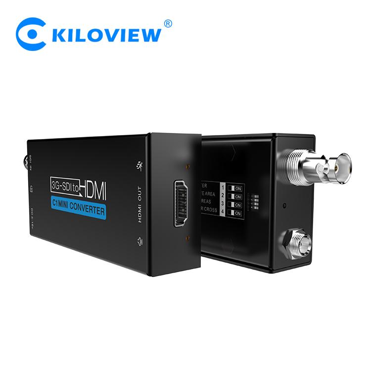 Mini sdi to hdmi multifunctional 1080i to 1080p video converter