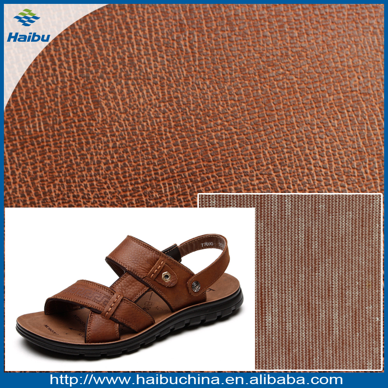 Wholesale PVC Faux Leather for Sandal