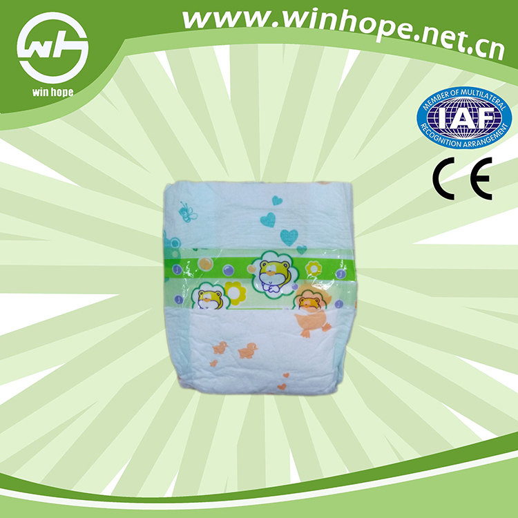China Manufacturer Wholesale Baby Diapers Nappies Sleepy Baby Diaper
