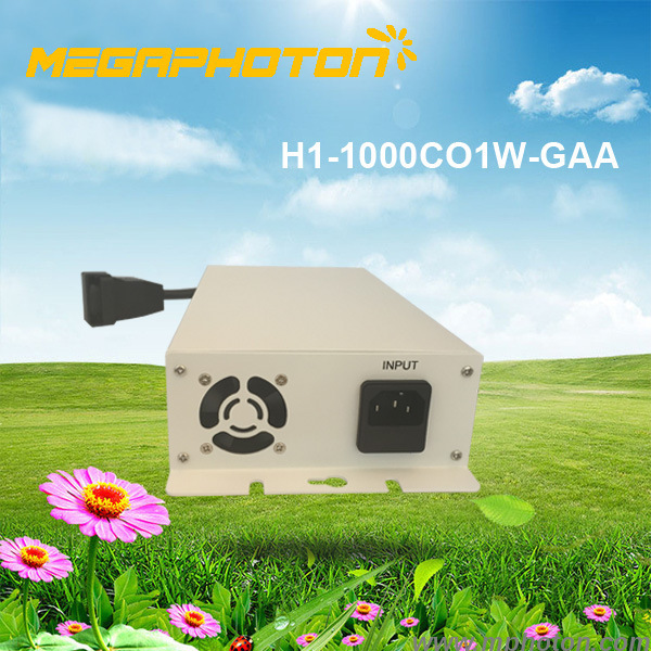 Megaphoton HPS / MH DE 1000w electronic ballast with fan horticutural HID Lamp lighting