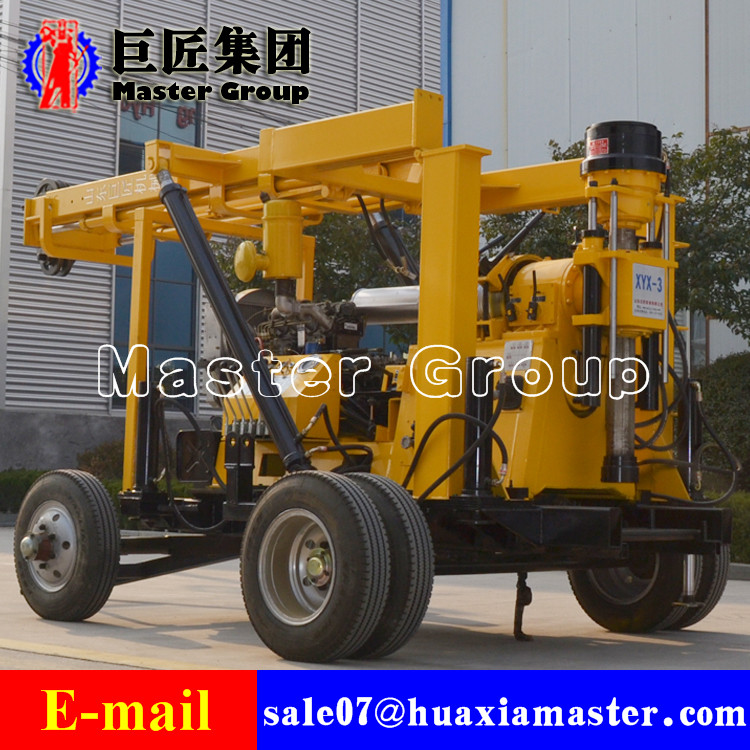 Wheels portable drilling machineXYX-3 Wheeled Hydraulic Core Drilling Rig