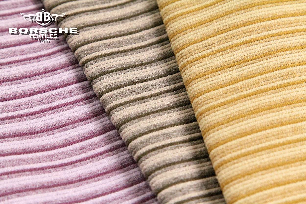 Micro fiber jacquard suede fabric with water repellent 25T-0326