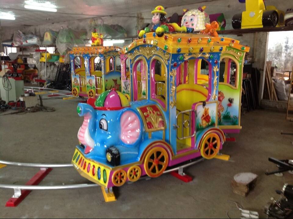 "Kids train on rail ""Zoo Land"""