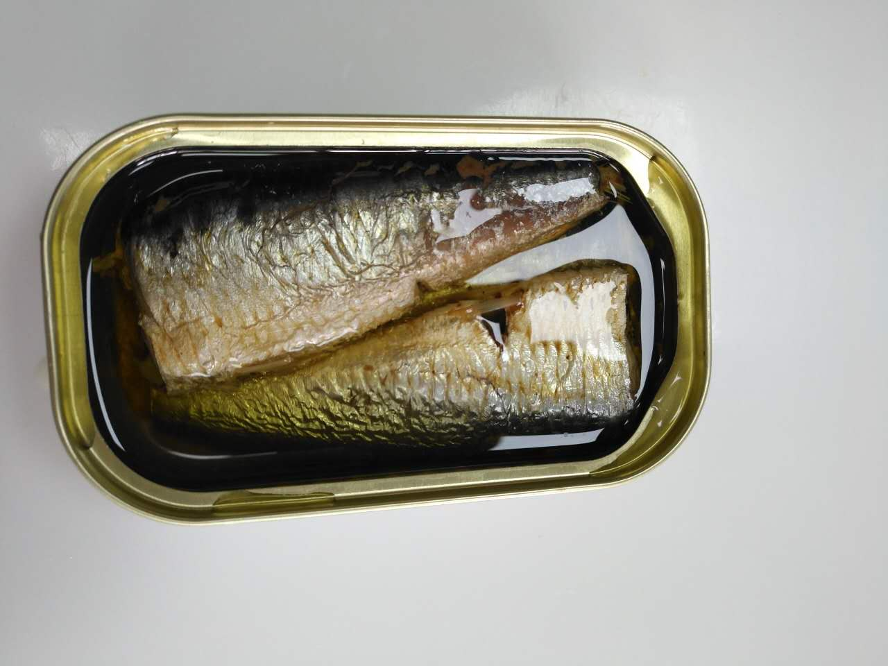 125g canned sardines in vegetable oil