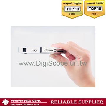 Portable Lcos mini  SD card  multimedia led Projector-1