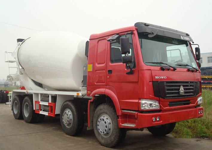 SINOTRUK HOWO Chassis 12cbm Concrete Mixer Truck