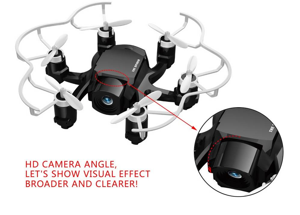 BBM-D3 new spider drone Hexadcopter with HD camera 4Ch 6axis Gyro