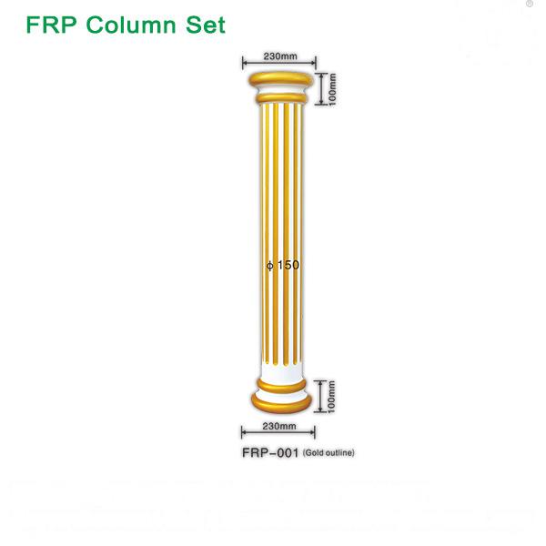 Fiberglass FRP column/ interior & exterior roman column