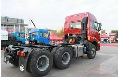 FAW cargo tractor truck