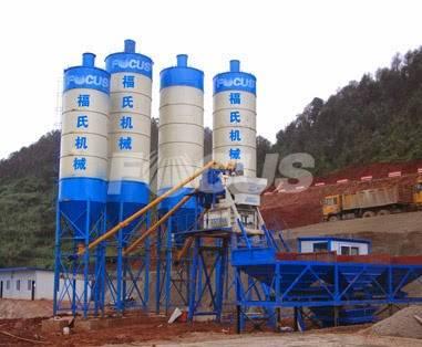 HZS50 Concrete Batching Plant For Sale,Concrete Batching Plant Price