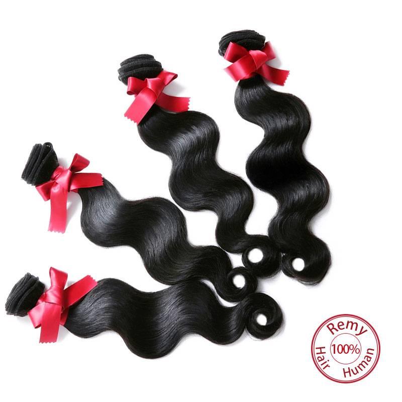 Evet Hair Weave Brazilian Virgin Hair Weaves