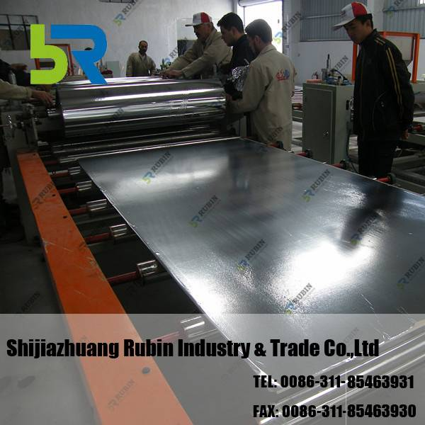 PLC Control PVC Gypsum Board Production Line