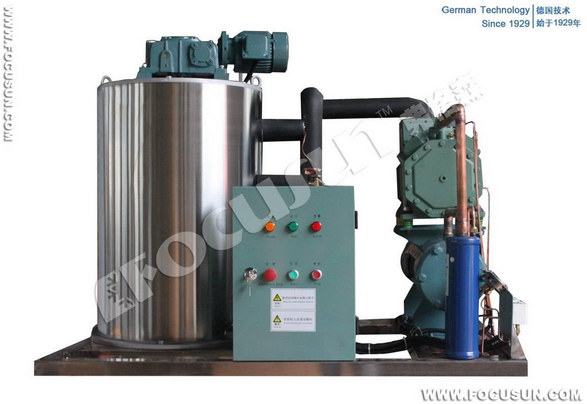 2011 Newly fresh water flake ice machine with 2 ton/day