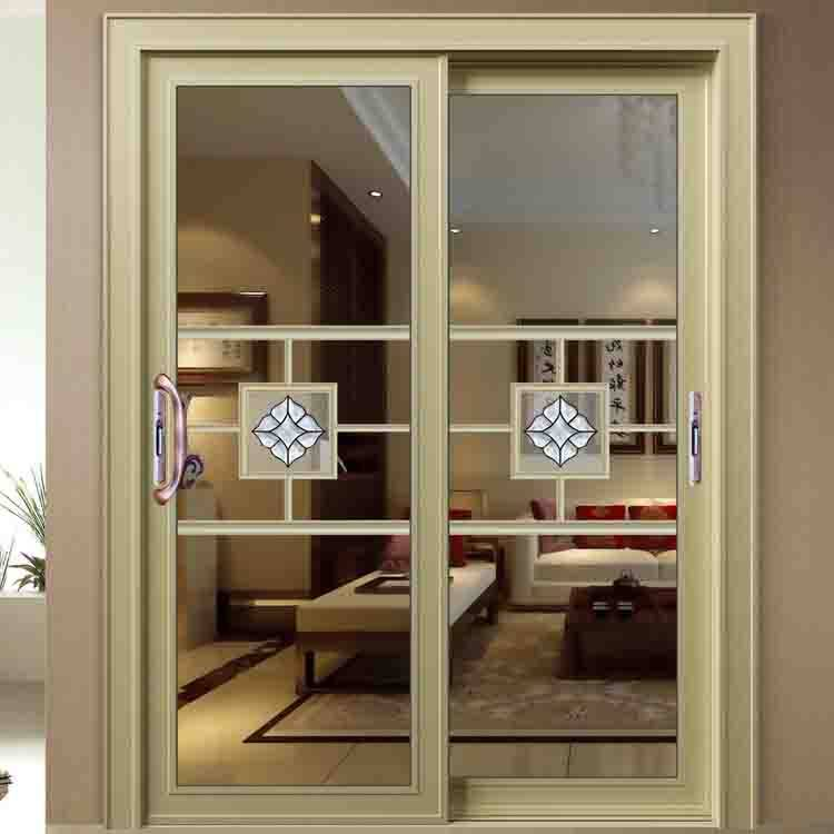 double glazing aluminium sliding patio doors with tempered glass