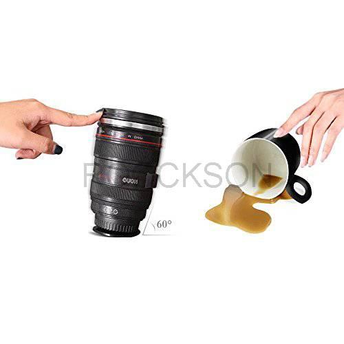 magic suction camera lens mug