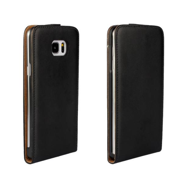 Genuine Real Leather Case Vertical Up and Down Flip Cover For Galaxy Note 5 SGN5C23