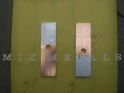 Copper to Aluminum adapter bar