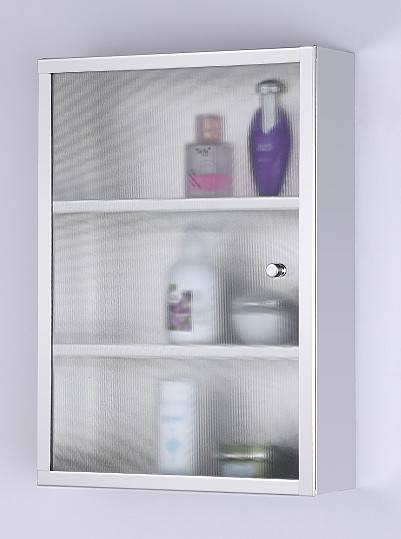 China hot sale&newest design stainless steel bathroom mirror cabinet