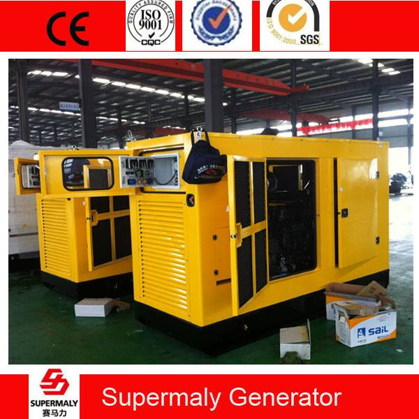 Silent 60KVA 50KW Diesel Generator by Perkins 1104A-44TG1