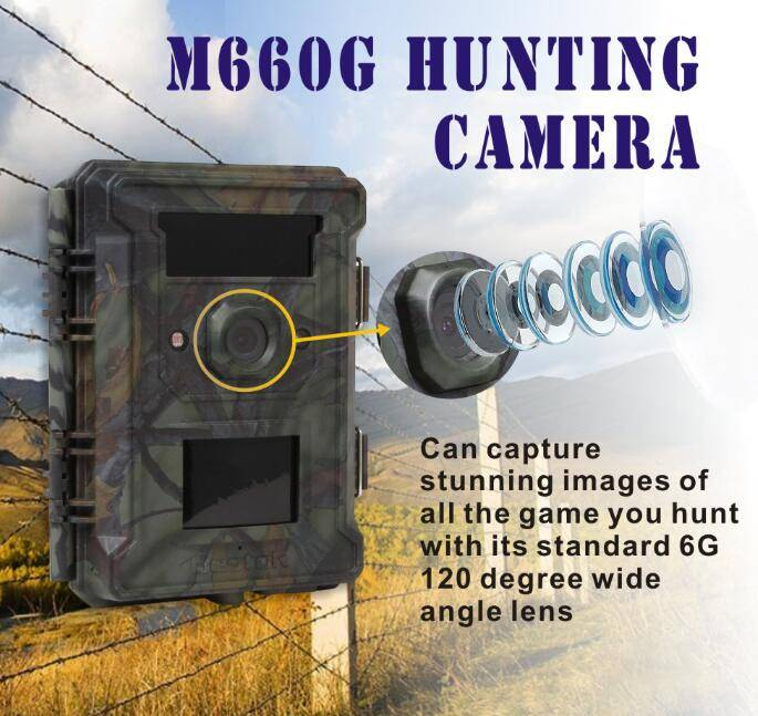 120 wide angle degree wireless/wifi hunting camera very competitive price
