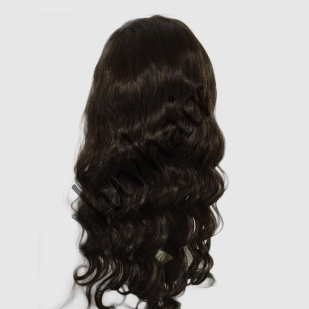 Top quality indian remy full lace wig