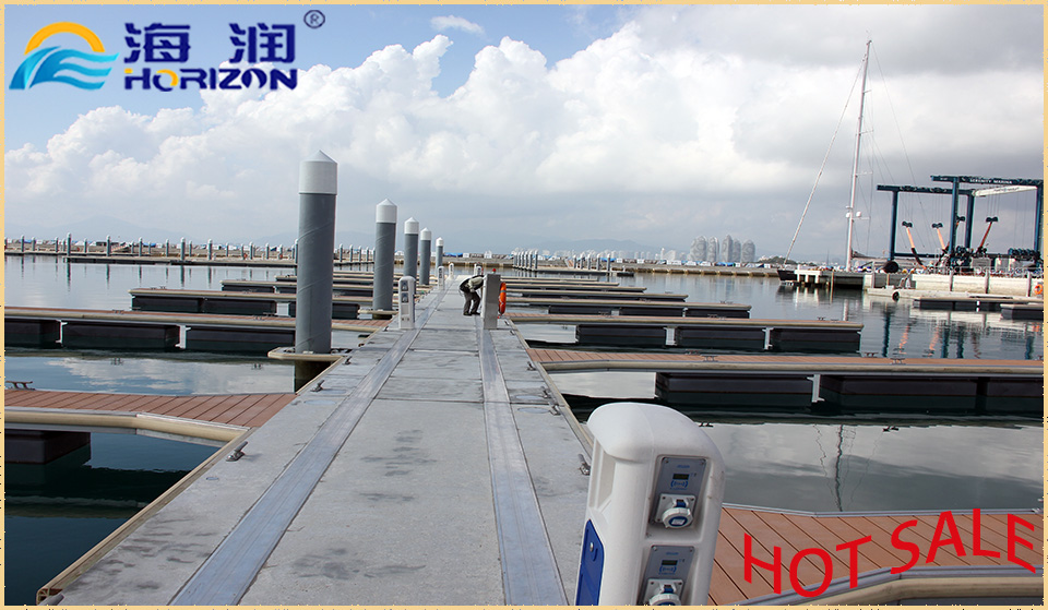 Top sale floating dock/ floating pontoon from china