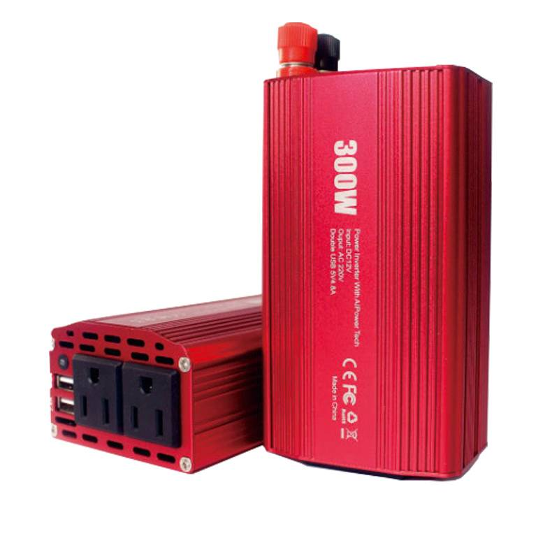 High Promotion 100W 150W 200W 12VDC 110V/240VAC Modified Sine Wave Power Inverter for Computer/Home/