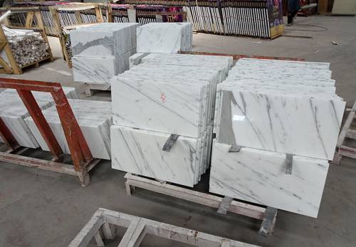 Thin marble tile