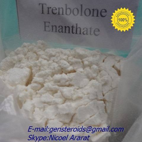 Trenbolone Enanthate Muscle Building Steroids Light Yellow Powder Strength