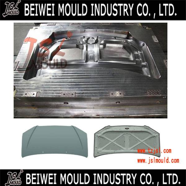 Auto engine hood cover injection mould making