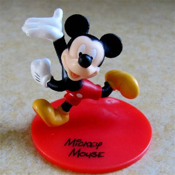 High quality Small PVC Gift Wholesale Lovely Plastic Mouse Toy, Kid Baby Toys