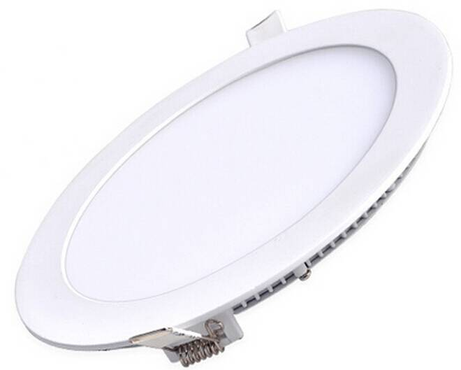 Ultra-thin new style ds round led panel light