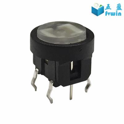 Tiny Momentary PCB Mount Illuminated Light Micro Switch