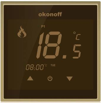 HVAC LED Digital Touch Screen Room Temperature Thermostat