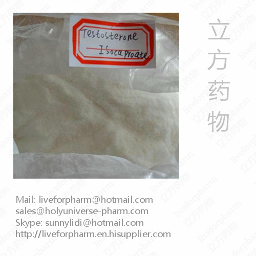 Testosterone Isocaproate Powders/CAS15262-86-9/98%Pur