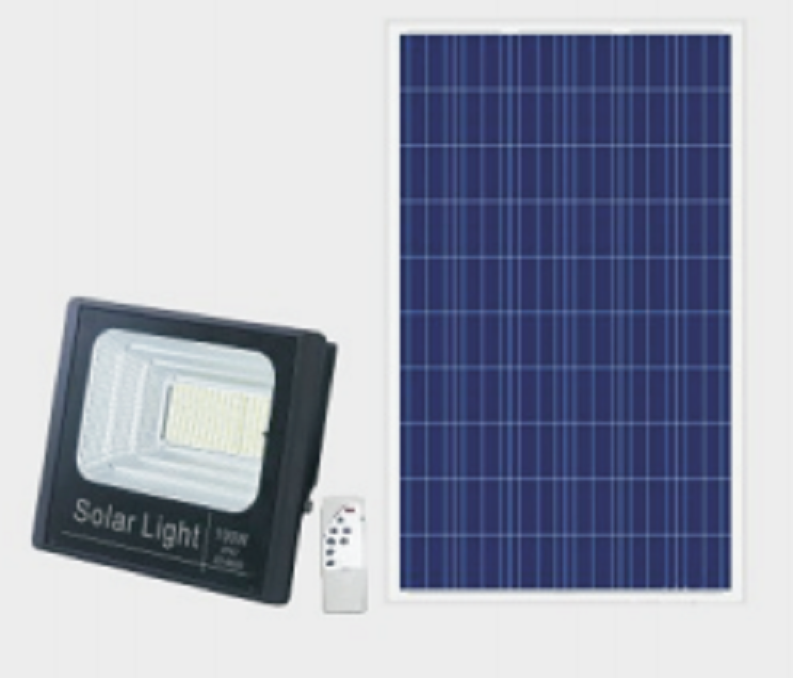 LED Solar Flood light