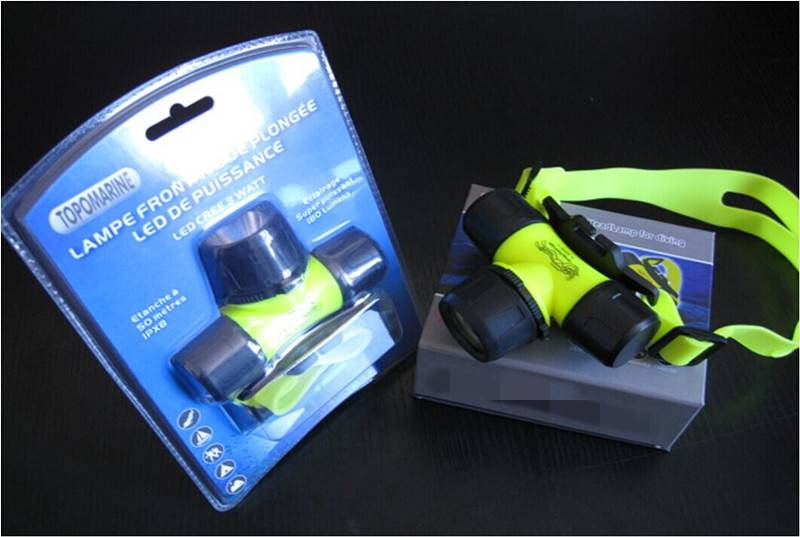 Q5/XPE/1W headlight diving lamp