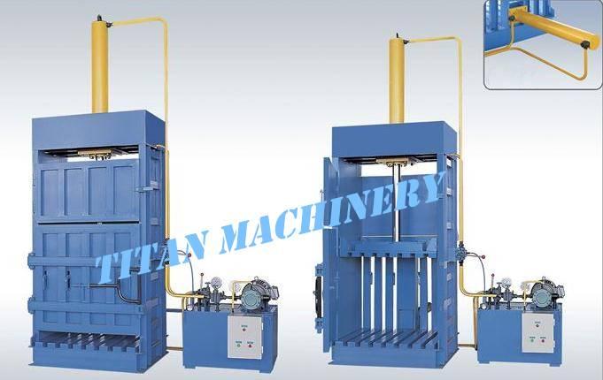 garbage compactor baler baling press machine